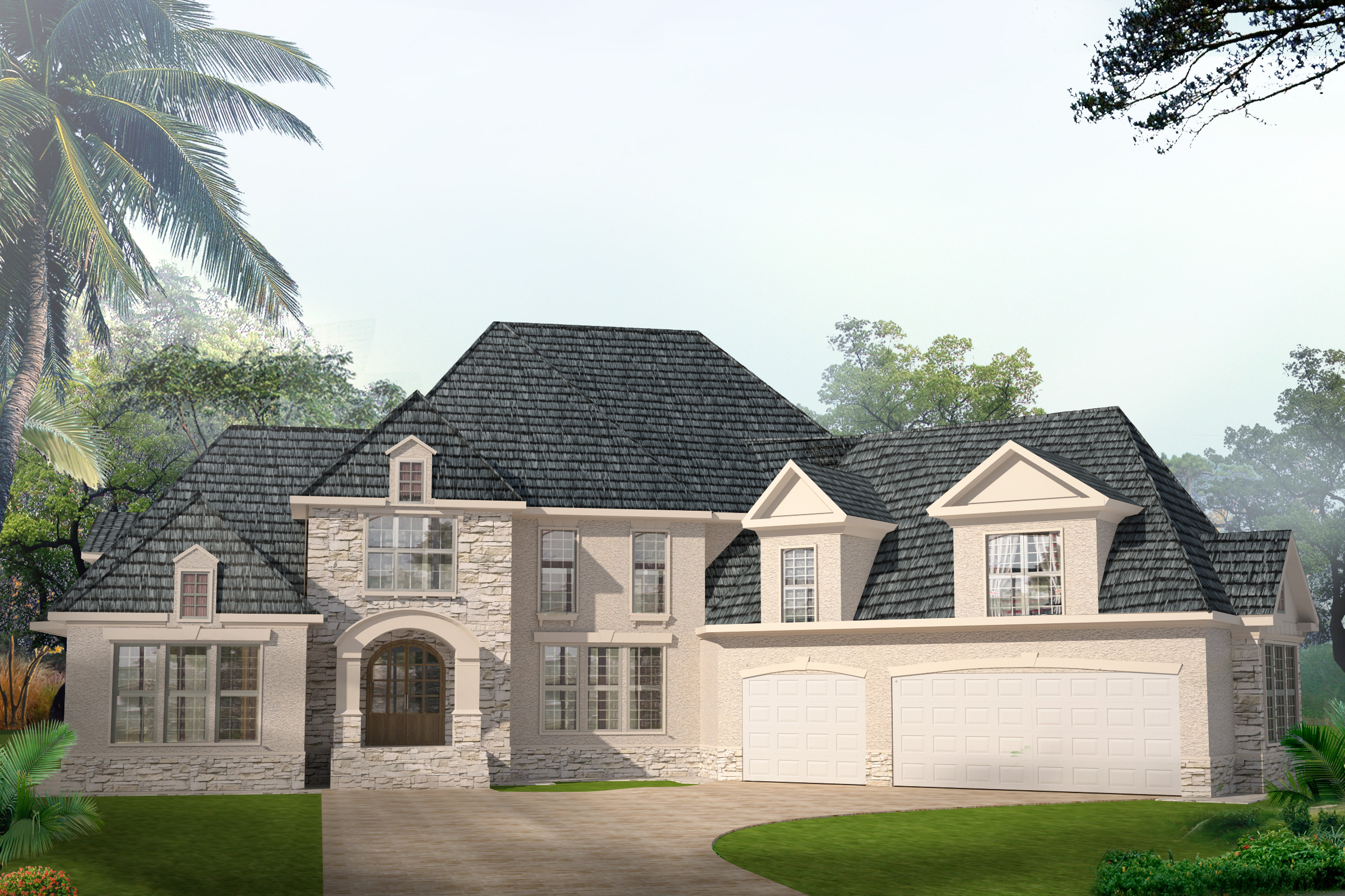 The atlantan infinity house plans Atlanta home plans